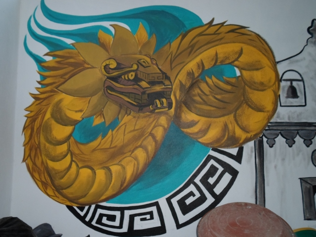 dragon, mural, street art